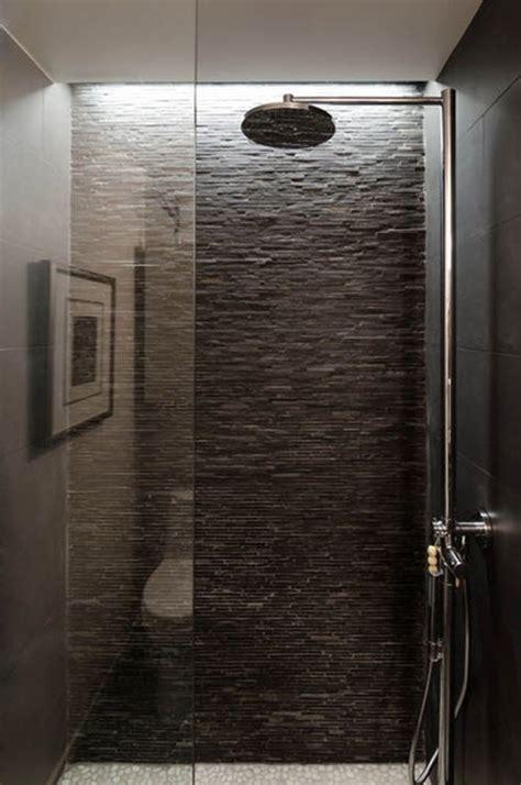 Slate Tile Bathroom by 40 Black Slate Bathroom Tile Ideas And Pictures