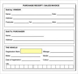 free printable receipt templates sle receipt template 7 free for pdf