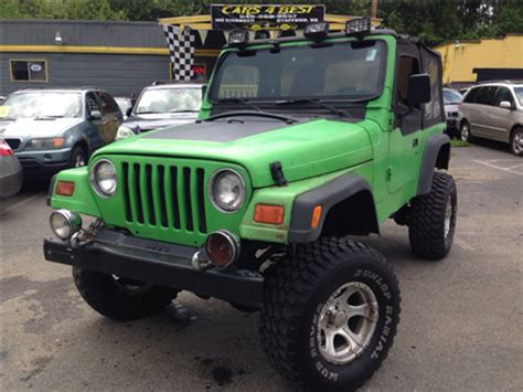 2000 jeep rubicon for sale 1997 jeep wrangler for sale carsforsale