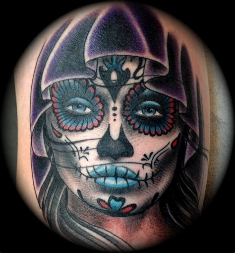 day of the dead girl tattoo design day of the dead design