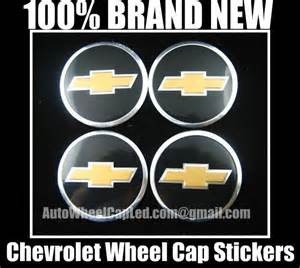 chevrolet chevy wheel center caps emblems tin stickers
