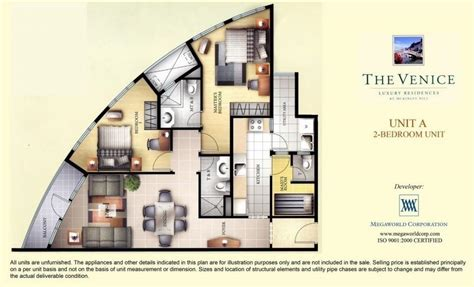 individual floor plans of luxury condo units blu condos the venice luxury residences megaworld condominiums