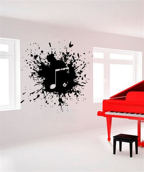 music decals for bedroom wall decal vinyl sticker decals art decor by