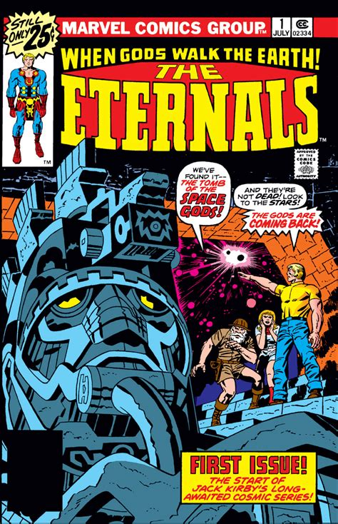 The Vol 1 eternals vol 1 1 marvel database fandom powered by wikia