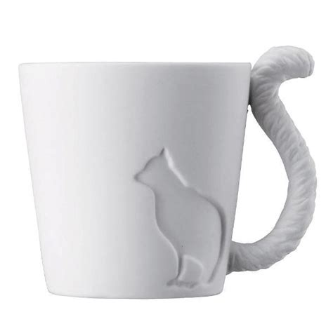 mug design for lovers cat mug tail handle for cat lovers home design garden