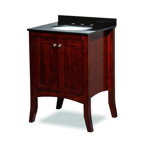 free sink with granite countertop belmont decor charleston 24 quot single sink vanity set with