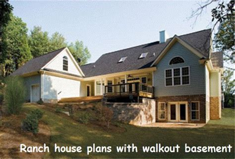 ranch house plans with walkout basement pinterest the world s catalog of ideas