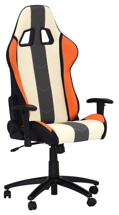 siege bureau blanc siege bureau blanc noir orange comptoir du tuning