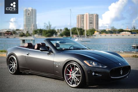 maserati chrome maserati chrome rims custom wheels by cor in miami