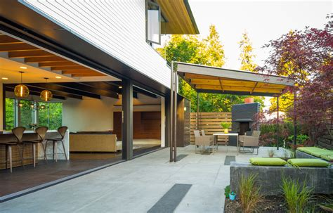 covered outdoor patio patio modern with outdoor furniture modern pergola deck contemporary with grass covered patio