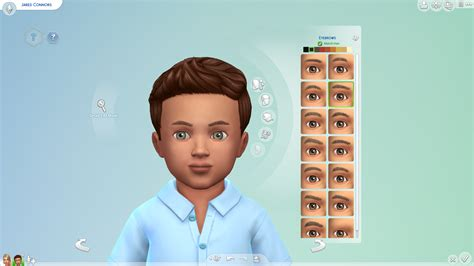 sims 4 toddler eyes cc the sims 4 toddlers update toddlers cas overview sims