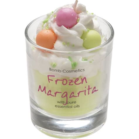 Bomb Cosmetics Piped Glass Candle Frozen Margarita Piped Bomb Cosmetics Frozen Margarita Piped Candle Bomb