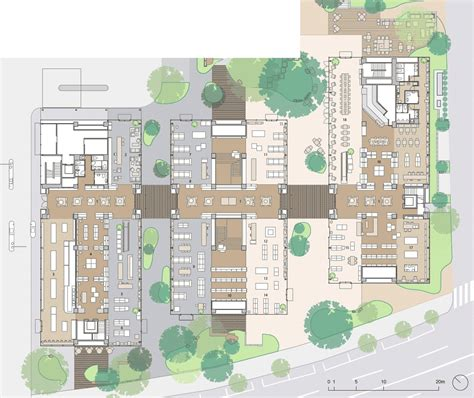 architectural plans daikanyama t site by klein dytham architecture t lattice