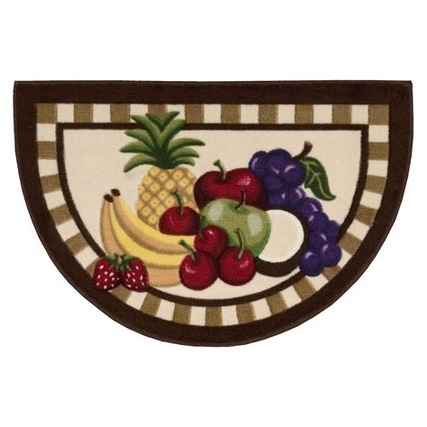 Kitchen Rugs Fruit Design Whole Home 30 Quot X20 Quot Fruit Kitchen Slice Rug