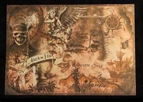 pirates of the caribbean treasure map pirates