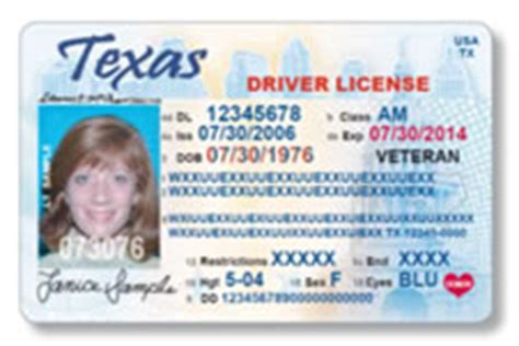 disignation on your drivers license