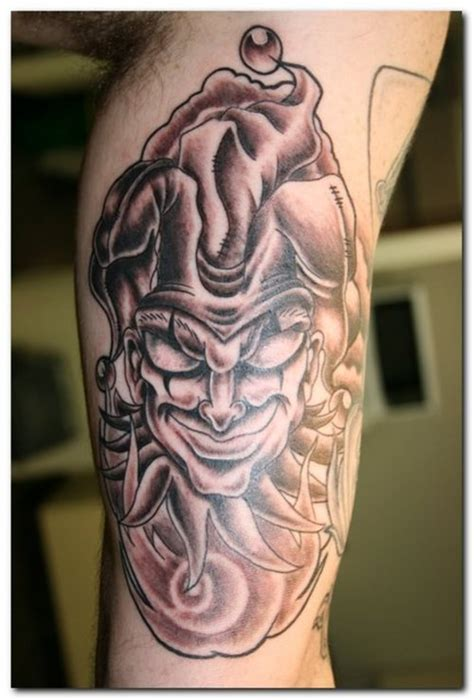 tattoo lady joker joker tattoos design one off cool clown tattoo best