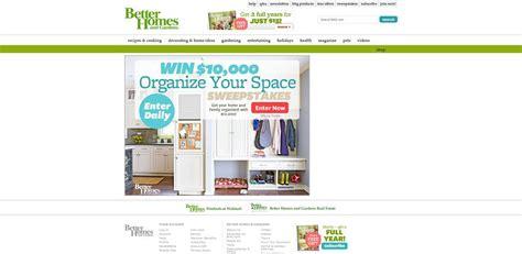 Sweepstakes Eligibility - bhg 10 000 organize your space sweepstakes
