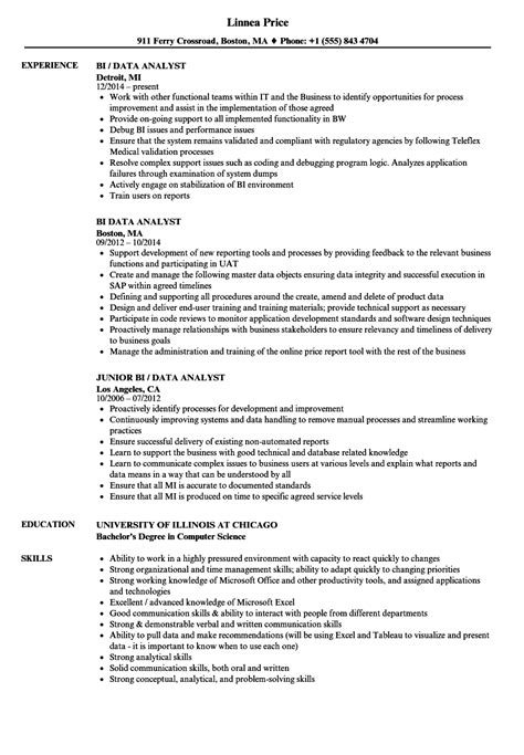 alternative resume formats alternative titles for data analyst optimal resume