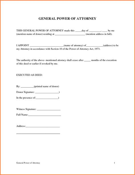 9 printable power of attorney sales report template