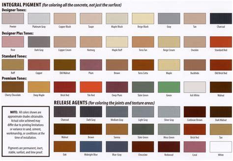 cement colors cement color 12 cement color chart laurensthoughts