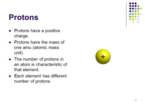 protons are positive atoms and the periodic table ppt