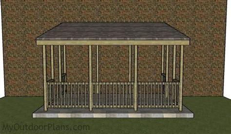 lean  gazebo plans myoutdoorplans  woodworking