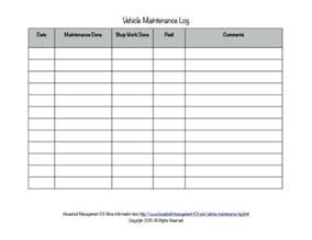 new car log book free printable vehicle maintenance log why you should