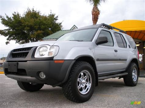 2002 silver metallic nissan xterra se v6 26210630 gtcarlot car color galleries
