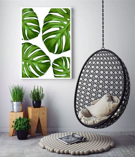5 ways to make modern home decor and design 30 stylish and timeless tropical leaf d 233 cor ideas digsdigs