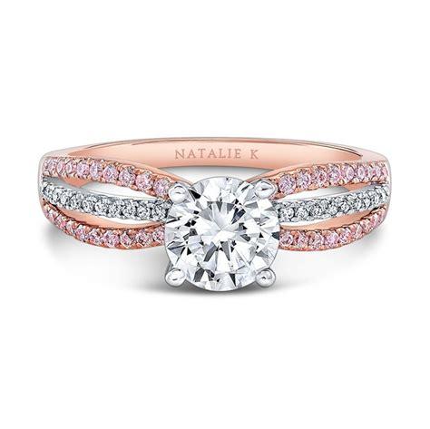 Fm Fm084 White Rosegold 18k rg pink white ring nk28687pk 18wr