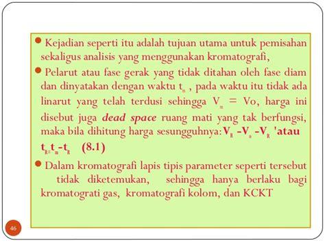 Analisis Fisiokimia Kromatografi Vol 2 Bahan Kuliah Kromatografi