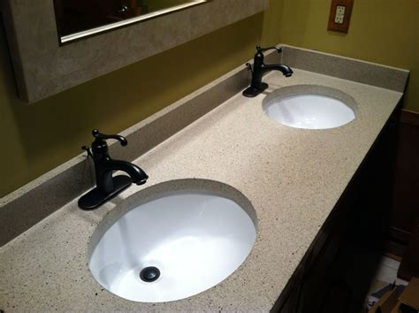 what are bathroom sinks made of bathroom vanities with tops choosing the right countertop