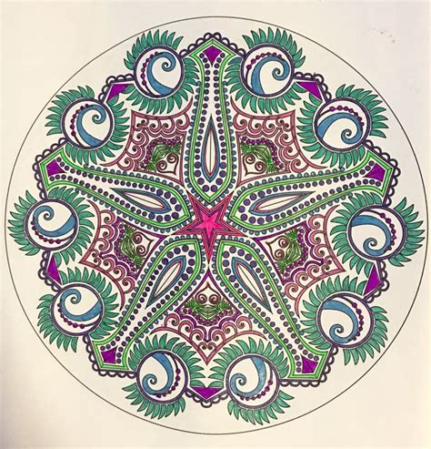 mandala coloring book pens 372 best images about my coloring pages mandalas colored