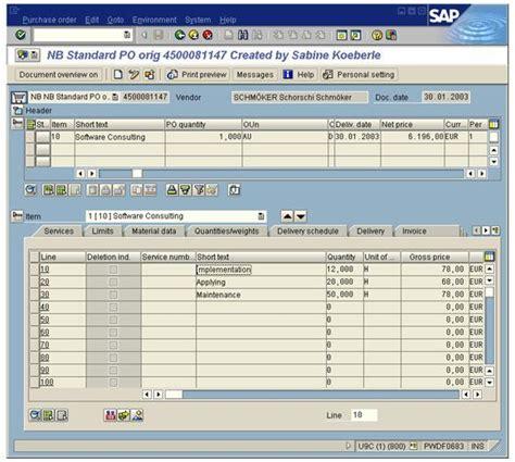 sap tutorial purchase order abap pending purchase orders report