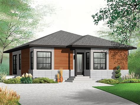 Contemporary Bungalows by Small And Modern House Plans One Story House Plans For
