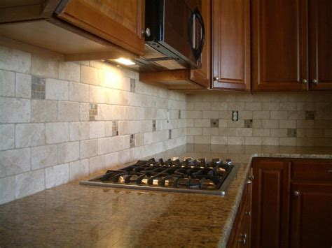 travertine tile kitchen backsplash travertine tile for backsplash in kitchen great home