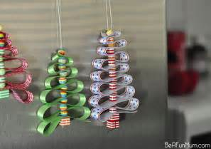ribbon christmas tree decoration be a fun mum