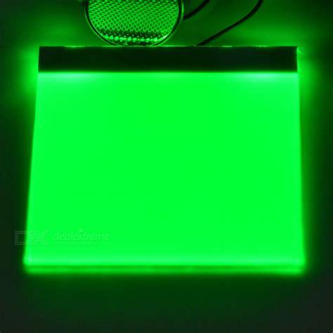 led light panels for backlighting 5 5 0 2cm diy green light led backlight light guide panel