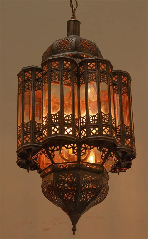Moroccan Light Fixtures Moroccan Crafted Mamounia Light Fixture Clear Glass For Sale At 1stdibs