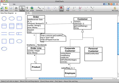 best mac flowchart software clickcharts free flowchart software mac clickcharts free