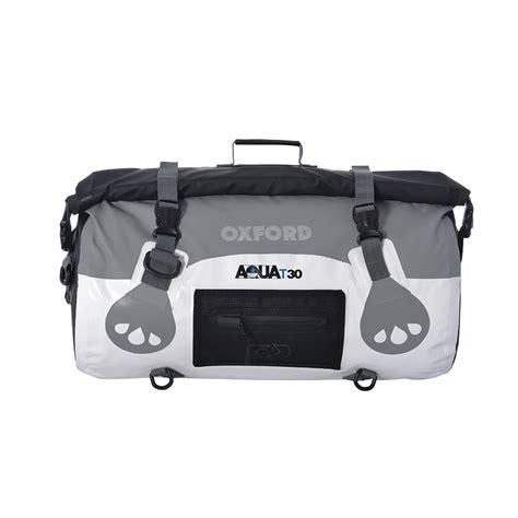 White Roll Bag aqua t 30 roll bag white grey oxford products