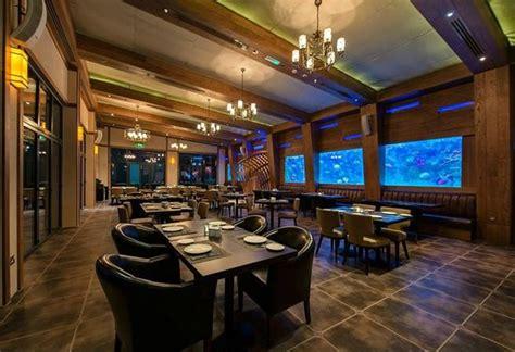 design aquarium restaurant dining picture of aquarium restaurant yas marina abu