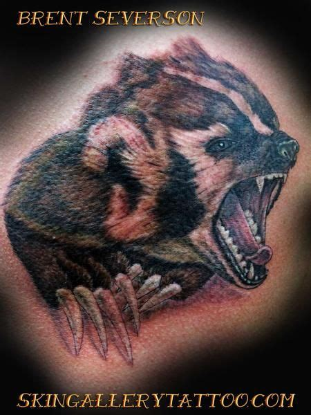 honey badger tattoo 31 best tribal badger images on badger