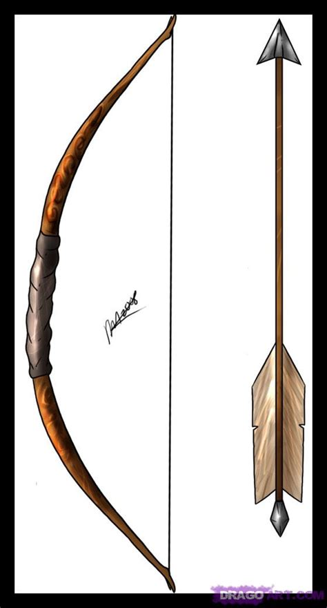 Teaching Living And Learning Arrow And Bow Bow And Arrow Drawing