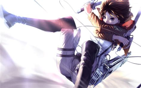 wallpaper anime hd attack on titan mikasa ackerman attack on titan 5 wallpaper anime