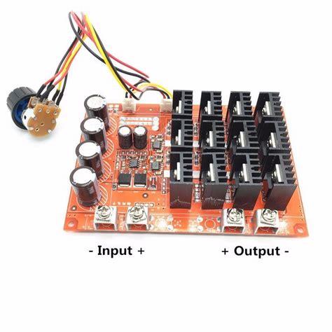 310 30v 100a 3000w Programable Reversible Pwm Dc Motor Speed Controlle dc 10 50v pwm dc motor speed controller 3000w max 12v