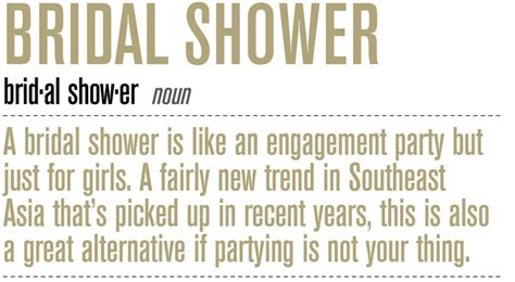 What Is The Difference Between And Showers by The Difference Between A Bridal Shower And A Bachelorette The Wedding Notebook Magazine