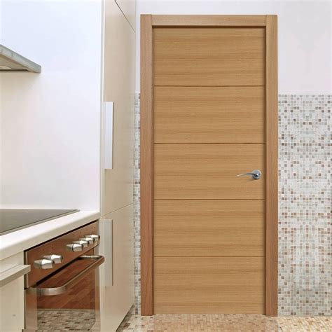 orta flush oak veneer door is pre finished