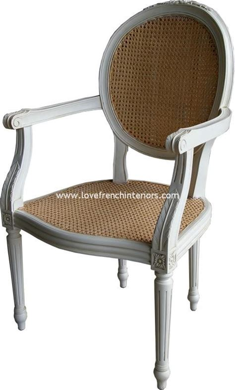 Antique White Chairs by Salon Or Carver Chair With Rattan In Antique White